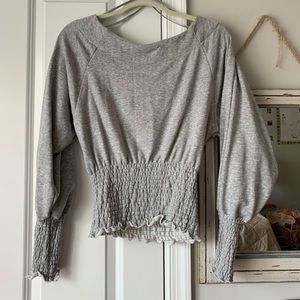Urban Outfitters cinched waist sweatshirt